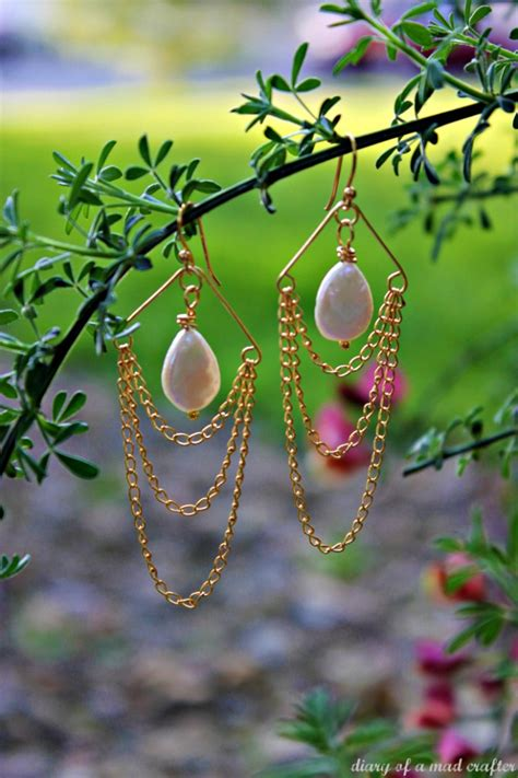 how to make chandelier earrings with easy diy chandelier earrings allcrafts free crafts update