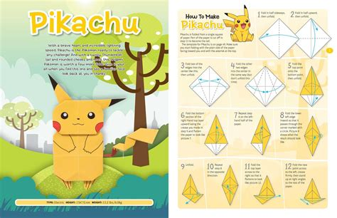 pokémon origami origami origami fold your own book by