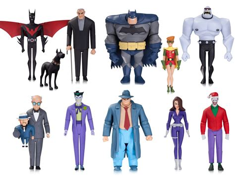 animated figures new batman animated series figures coming from dc