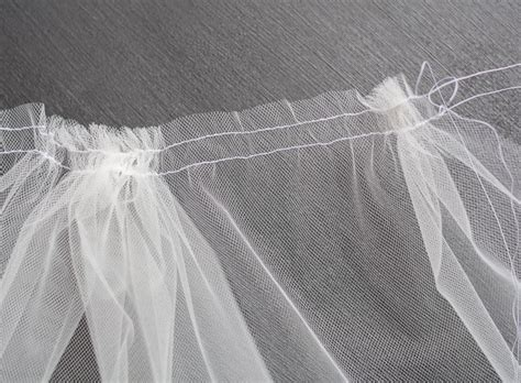 how to sew on a veil how to make a bridal veil simple diy bridal veil