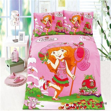 strawberry shortcake bed set get cheap strawberry shortcake bedding set