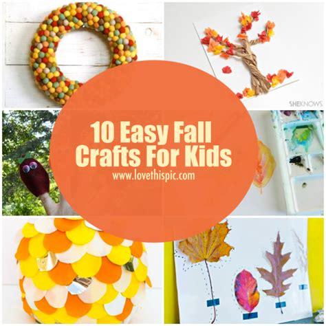 easy fall crafts for 10 easy fall crafts for