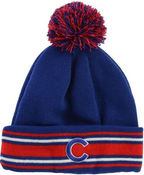 cubs knit hat new era chicago cubs mlb ac knit hat in blue for