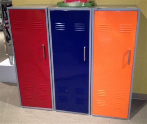 bedroom locker furniture chic kids lockers for room colorful locker storage
