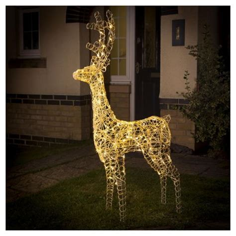 white light reindeer buy light up led reindeer warm white from our