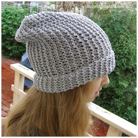 free knitting pattern mens beanie 50 shades of grey beanie allfreeknitting