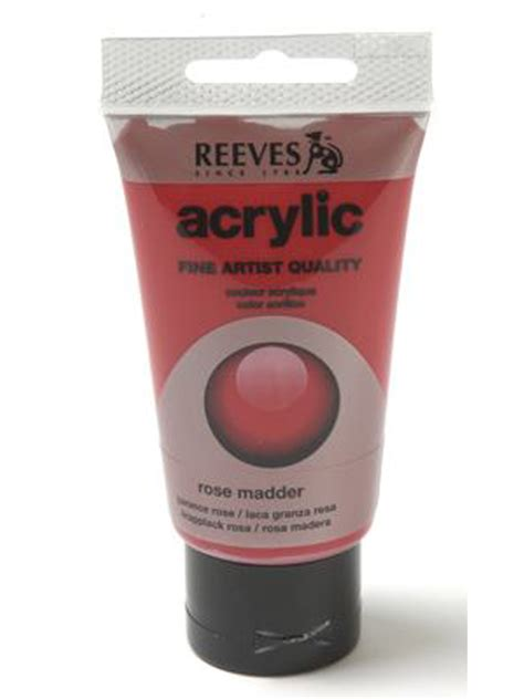 reeves acrylic paint quality papertree reeves acrylic paint madder
