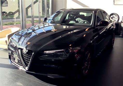 Black Alfa Romeo by Alfa Romeo Giulia Looks In Black