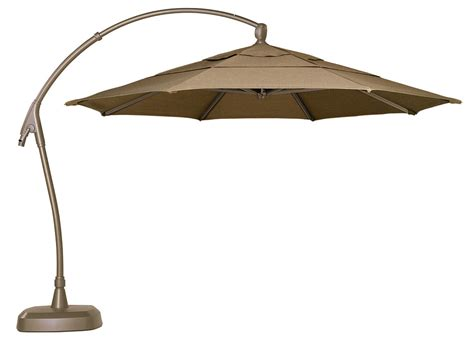 patio cantilever umbrella treasure garden 11 ag28 square cantilever offset aluminum
