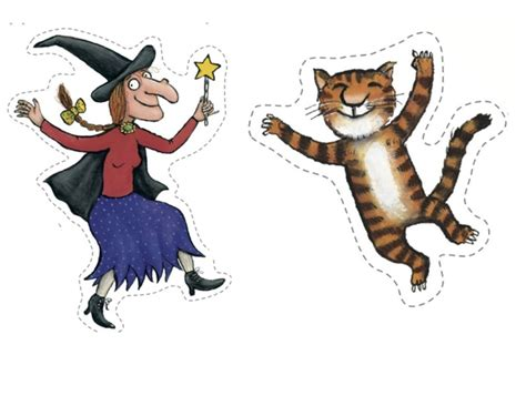 witches cat free coloring pages of room on the broom