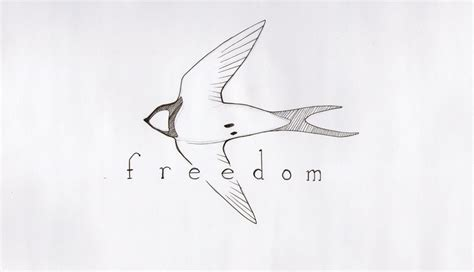 freedom tattoo by kameyo07 on deviantart