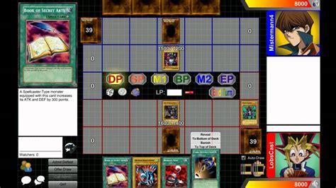 yugioh duelist kingdom let s play yu gi oh duelist kingdom with tom yugi vs