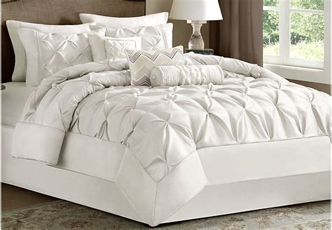 white bedding set janelle white 7 pc comforter set linens white