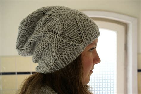 pattern for knitted slouch hat slouchy hats tag hats