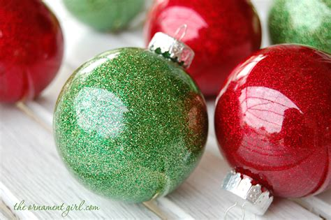 how to make ornaments out of how to make glitter ornaments the ornament market