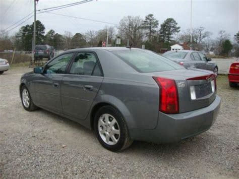 2005 Cadillac Cts 3 6 by Sell Used 2005 Cadillac Cts 3 6 L In 2849 Jefferson Davis