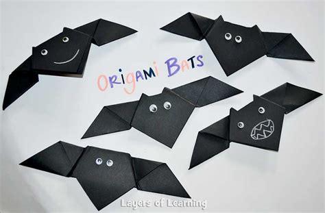 bat origami 13 bat crafts for