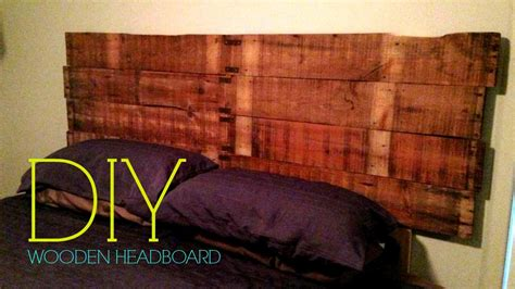 how to make a headboard out of wood diy wooden headboard