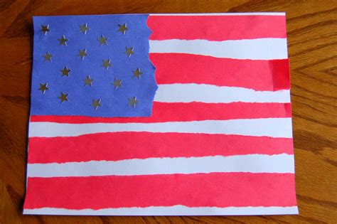 flag crafts for simple flag craft i crafty things