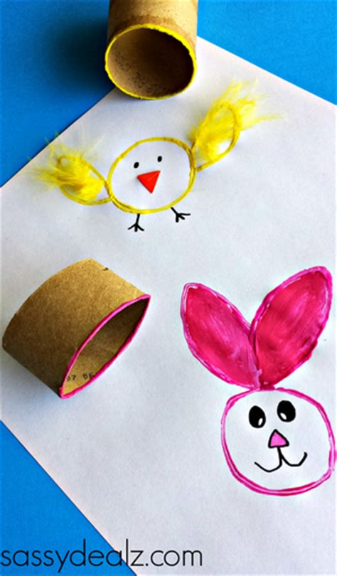 easter toilet paper roll crafts easy easter crafts for crafty morning