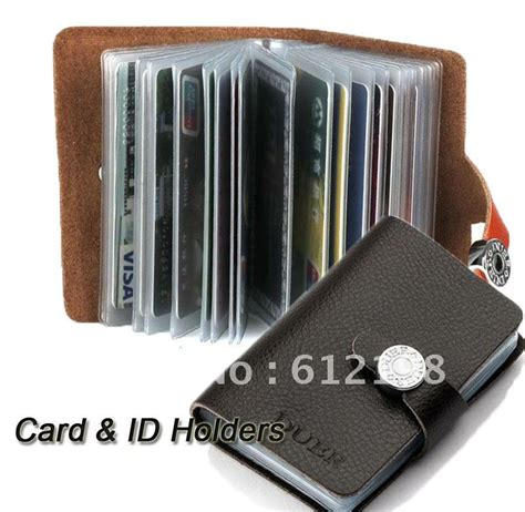how to make a credit card wallet big card holders 20 pieces card fashion genuine