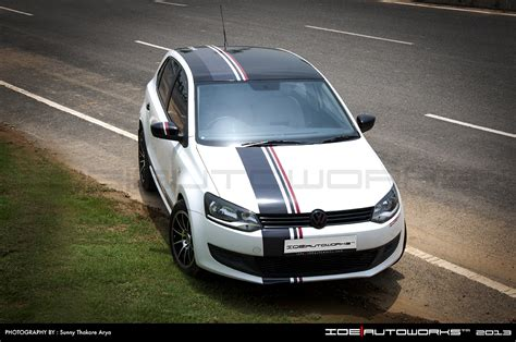 Running Head Lamps by Vw Polo Modified By Ide Autoworks