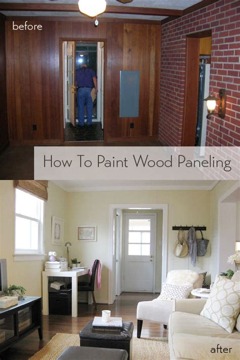 wood walls in house how to paint wood paneling house