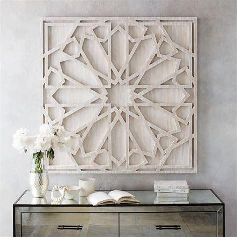 geometric wall decor geometric gray and ivory capiz wall