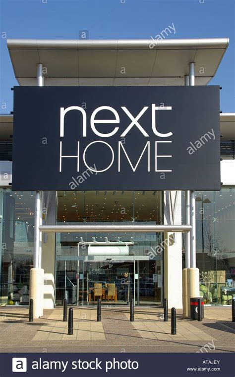 In Store Canopy by Next Home Store Sign And Canopy Entrance At The