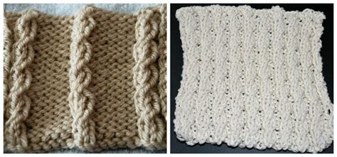 right twist knitting learn how to knit a simple mock cable