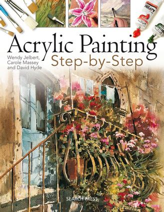 acrylic painting portrait step by step acrylic painting step by step independent publishers