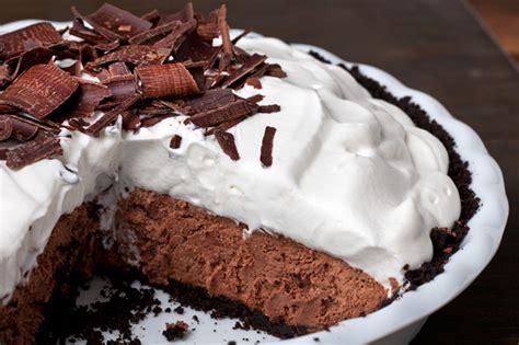 dessert recipes chocolate mousse pie chow