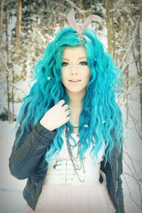 blue hair hair color trend dreamy blue hair pretty designs