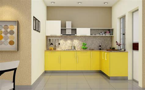 Normal Home Kitchen Design buy heron elegant l shaped kitchen online homelane india