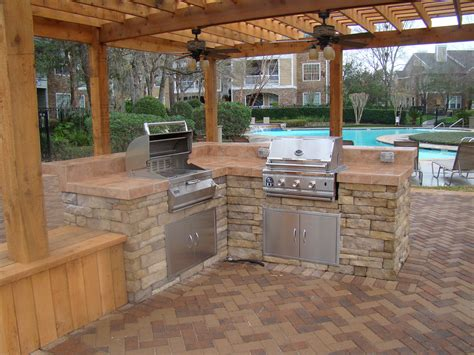 back yard kitchen ideas outdoor kitchen designs offering different cooking spaces traba homes