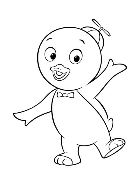 coloring book pictures to print free printable backyardigans coloring pages for