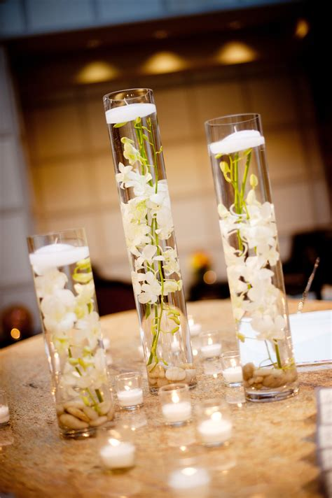 vase wedding centerpiece ideas real wedding with simple diy details hurricane
