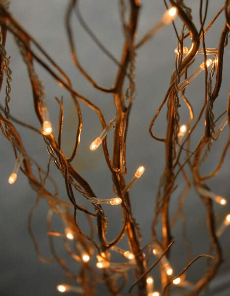 branches with lights lighted gold willow branches 39in