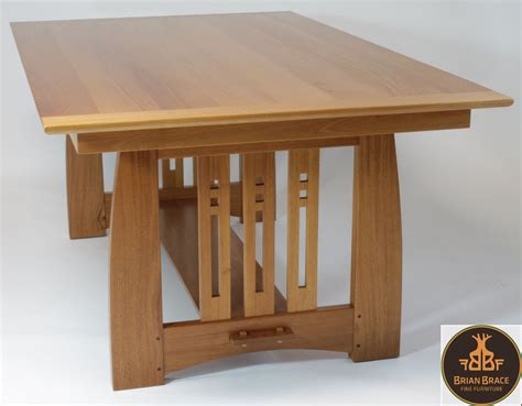 arts and craft table for arts and crafts dining room table by brian brace