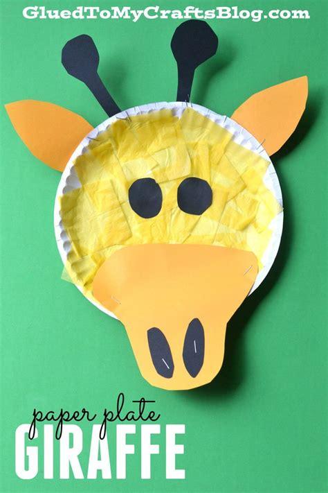 giraffe paper plate craft 25 best ideas about giraffe crafts on