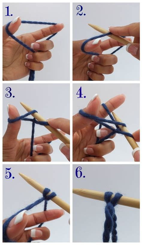 how to cast finger knitting how to cast on without tying a slip knot