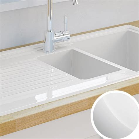 inset ceramic kitchen sinks kitchen sinks metal ceramic kitchen sinks diy at b q