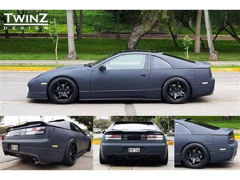90 Nissan 300zx by Twinz Design Rear Wing Spoiler Type 3 Nissan