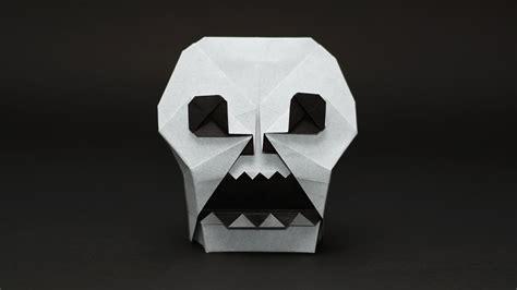 skull origami origami skull jo nakashima