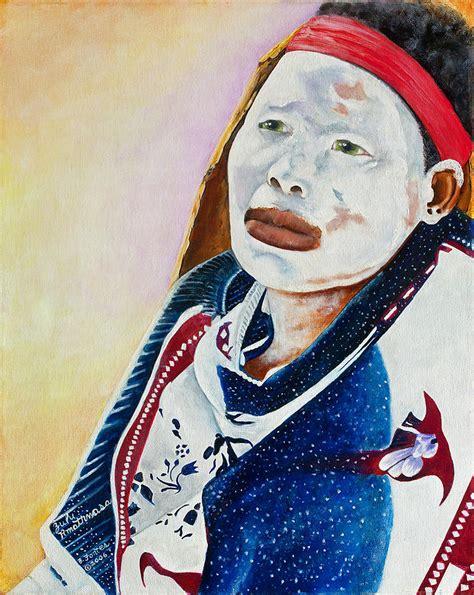 zulu painting zulu amathwasa painting by barbara fontes