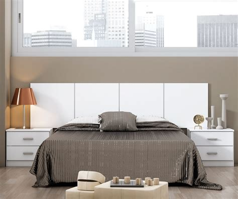 cabeceros de cama blanco cabecero para dormitorio moderno cyprus comprar