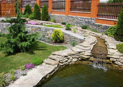 rock garden features 57 garden water feature designs designing idea