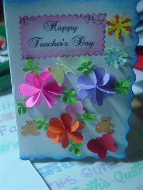 card ideas for teachers day 17 best images about teachers day card on