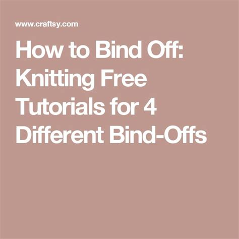 best way to bind knitting 17 best images about knitting how on