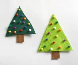 easy felt crafts easy crafts for felt tree pin